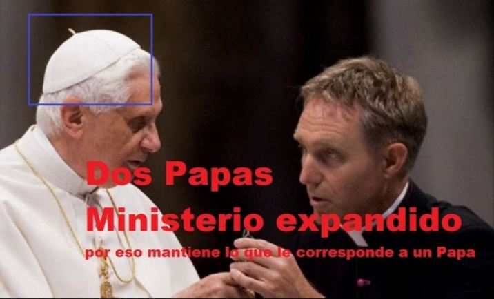 bicefalismo dos papas