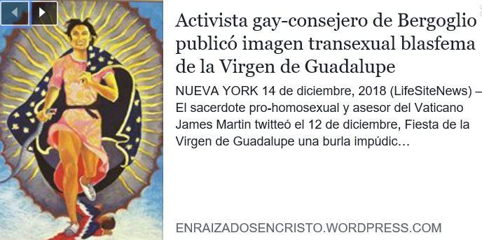 consejero de Bergoglio promotor de la homosexualidad